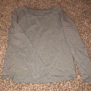Luluemon back pleat sweatshirt